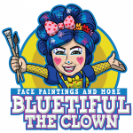 Bluetiful the Clown Logo